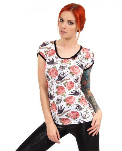 Liquor Brand ROSE TATTOO Damen T-Shirts