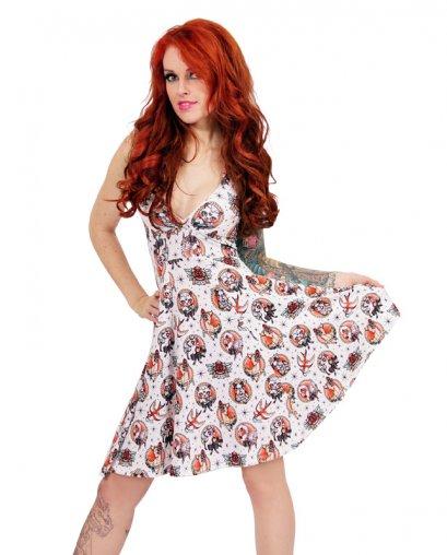 Liquor Brand ANIMAL HOSPITAL Damen Kleid