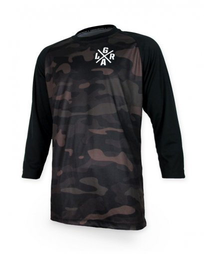 Loose Riders FREERIDE CAMO Herren Jerseys 3/4 Ärmel
