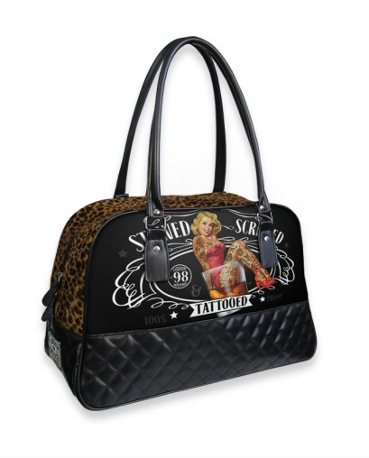 Liquor Brand STEWED SCREWED TATTOOED Zubehör Tasche-Handtasche