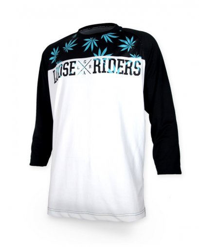 Loose Riders LEAVES Herren Jerseys 3/4 Ärmel
