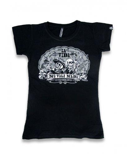 Liquor Brand LA VIDA Damen T-Shirts