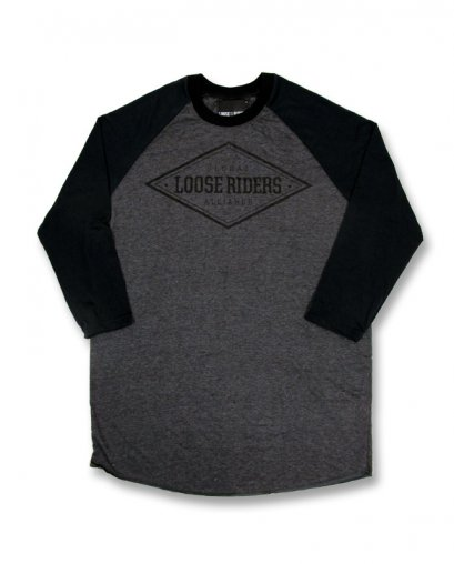 Loose Riders DIAMOND grey Men Raglans