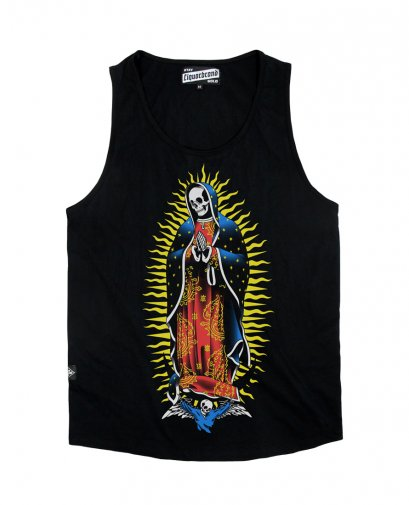 Liquor Brand SEARCH & DESTROY Men Tank Tops.