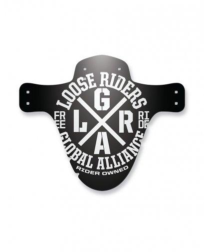 Loose Riders ALLIANCE WHITE Accessories MUDGUARD