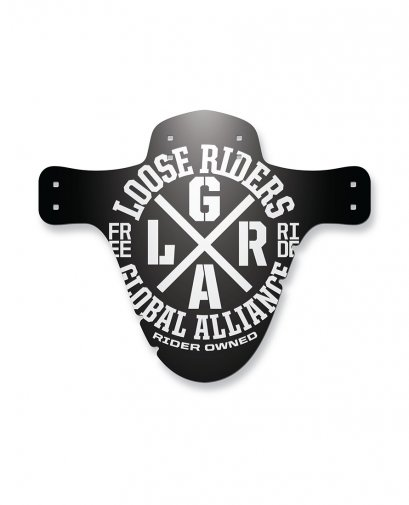 Loose Riders ALLIANCE WHITE Zubehör MUDGUARD