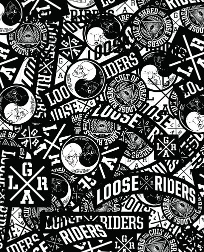 Loose Riders STICKER PACK  Zubehör Stickers
