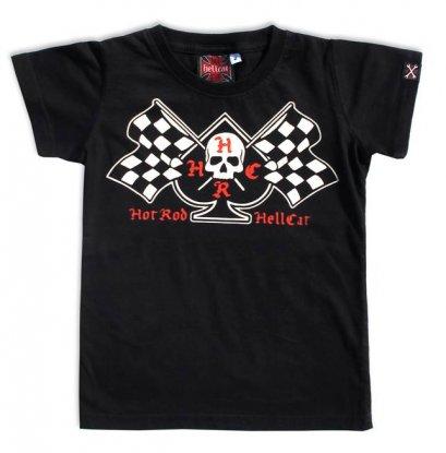 Hotrod Hellcat FLAGS Kinder T-Shirts