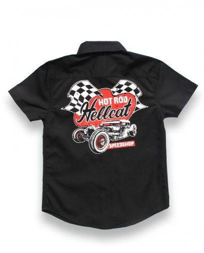 Hotrod Hellcat SPEEDSHOP Kids Workshirt