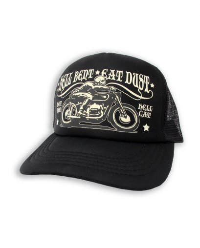 Hotrod Hellcat HELL BENT EAT DUST BIKE BLACK Accessories Hat & Beanies