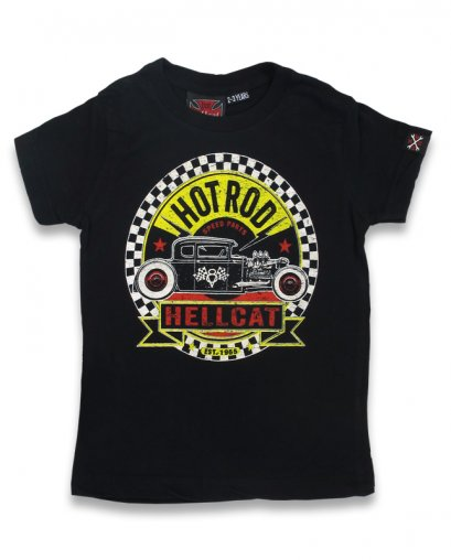 Hotrod Hellcat SPEED PARTS Kids T-Shirts