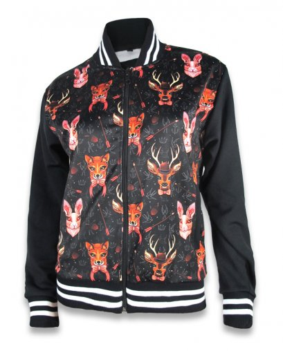 Liquor Brand FORREST ANIMALS Women Jackets.