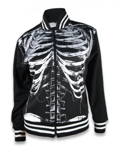 Liquor Brand SKELETON Damen Jacke