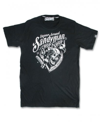 Liquor Brand SANDY MAN Herren T-Shirt
