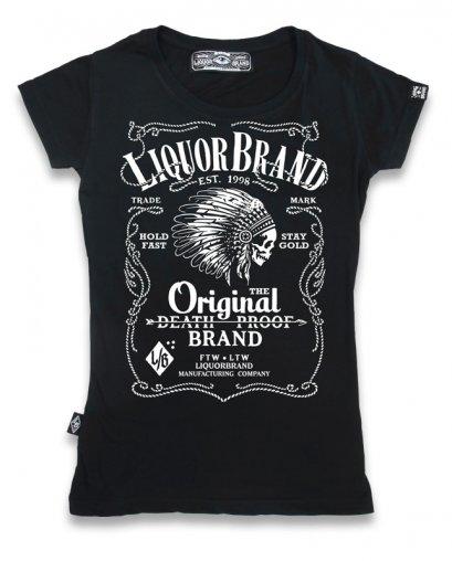 Liquor Brand FIREWATER Damen T-Shirt