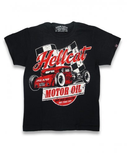 Hotrod Hellcat MOTOR OIL Kids T-Shirts