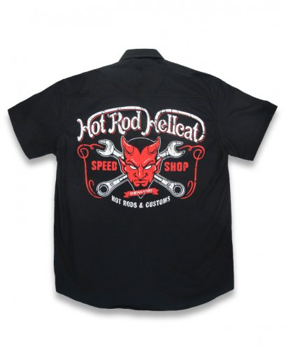 Hotrod Hellcat DEVIL Men Workshirt