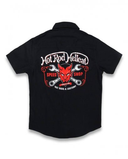 Hotrod Hellcat DEVIL Kids Workshirt