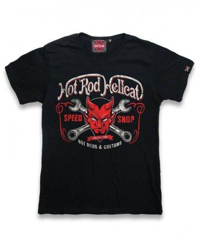 Hotrod Hellcat DEVIL Kids T-Shirts