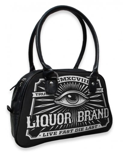 Liquor Brand EYE Damen Tasche-Handtasche