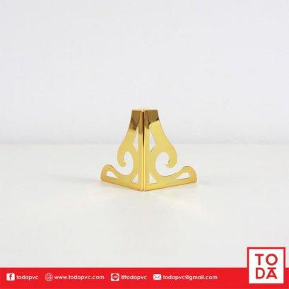 ขาเหล็กฉลุ TD-068 10 cm. ชุบสีทอง