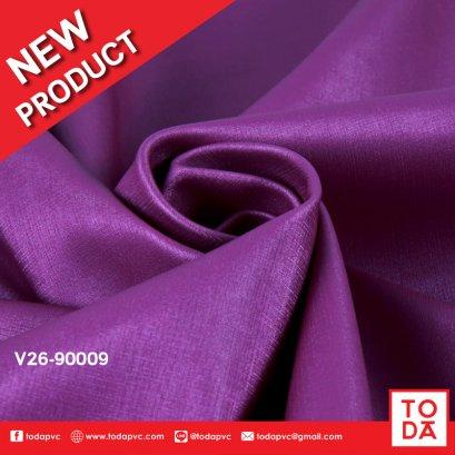 หนังเทียม PVC ลาย  V26 สีใหม่