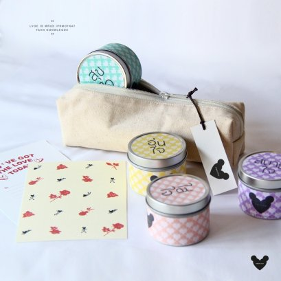 Rose Garden Candle Set