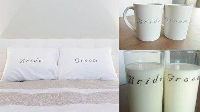 Bride & Groom Gift Set