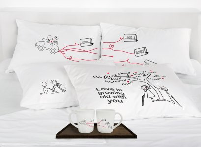 JUST MARRIED CAR GIFTSET