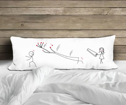 THE CARPENTER BODY PILLOWCASE