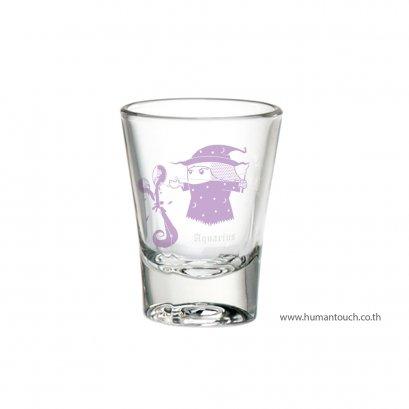 แก้ววอดก้าราศีกุมภ์-Aquarius-Vodka-Glass
