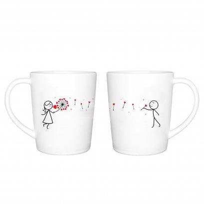 Petal couple mug
