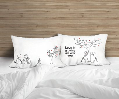 GROWING LOVE PILLOW CASE