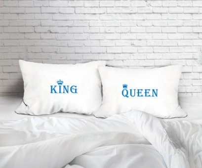 KING/QUEEN SET/2 PILLOW CASE