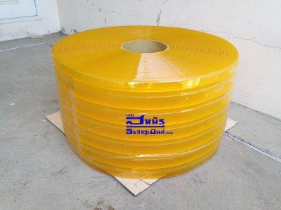 ม่านพลาสติกเหลือง แบบกันกระแทก หนา 2 mm.