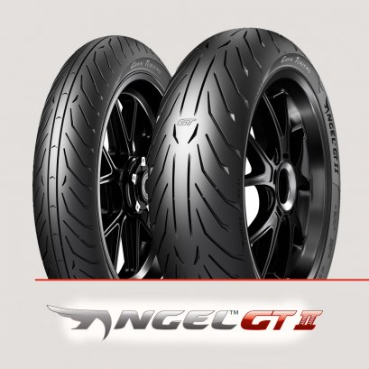 Pirelli Angel GT II (A) Heavy Motorcycles : 120/70ZR17+190/50ZR17