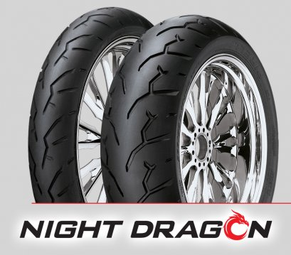 Pirelli NIGHT DRAGON : 120/70ZR19 + 150/70B18