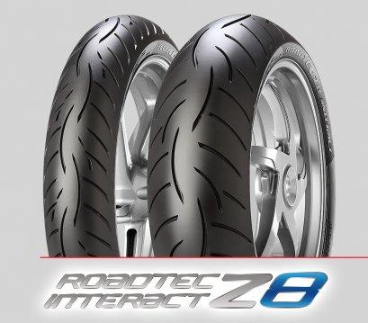 Metzeler Roadtec Z8 Interact : 110/80ZR18 + 160/60ZR17