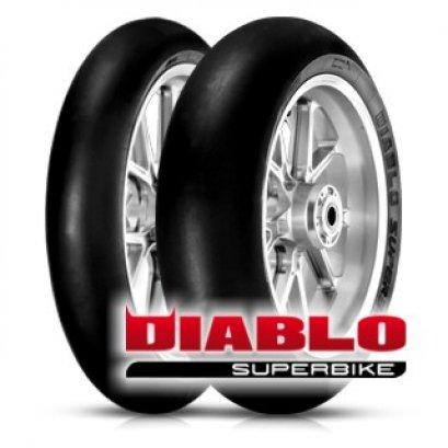 PIRELLI DIABLO SUPERBIKE 110/70R17+140/70R17