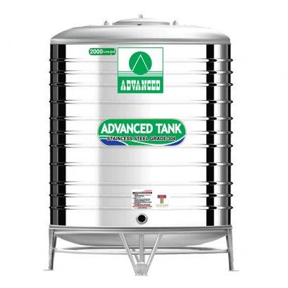 AR Series ถังเก็บน้ำสเตนเลสสตีล แบบก้นนูน ก้นเรียบ สูงพิเศษ (Water Tank Stainless Steel) - ADVANCE