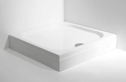CT-8031 / CT8011 ถาดรองอาบน้ำ 90 /100 ซม. (Easy-Shower Tray SQUARE) - CHRISTINA