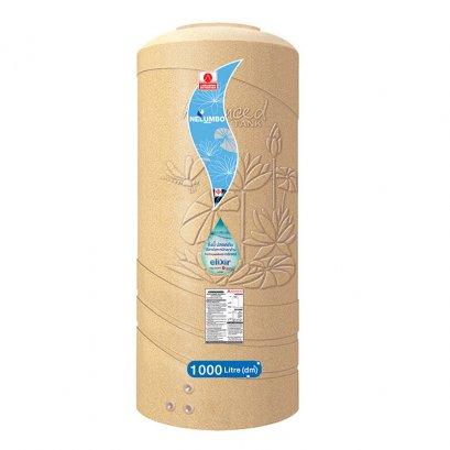 ถังเก็บน้ำบนดินเอลิเซอร์แบบเดินท่อภายในความจุ 1000 ลิตร - ADVANCE