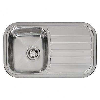 REGENT-10 ซิงค์ล้างจาน 1 หลุม พร้อมที่พักจาน REGINOX