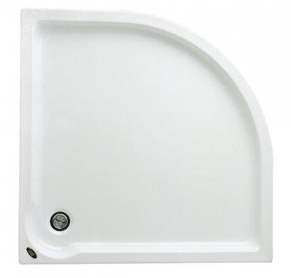 TF-7360  ถาดรองอาบน้ำแบบกึ่งฝัง + สะดือน้ำทิ้ง (CORNER SHOWER TRAY) - American Standard