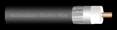 CCTV COAXIAL CABLE, RG-6/U, 95% SHIELD, UNDERGROUND, ECONOMICAL DESIGN