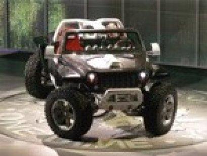 """""""เดมเลอร์ผลิตเฮอริเคนที่มีความคล่องตัว และประสิทธิภาพ รวมทั้งกำลังจากเครื่องยนต์มากที่สุด เท่าที่เคยผลิตขึ้นมา เพื่อแสดงความคารวะก่ผู้หลงใหลรถจี๊ปที่มีเอกลักษณ์ของรถออฟโรด และสมรรถนะในกาลุย"""""""