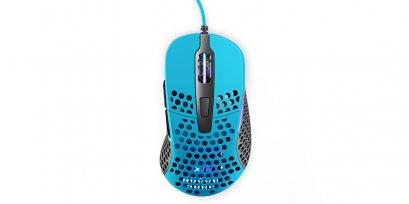 XTRFY M4 RGB, Gaming Mouse, Miami Blue