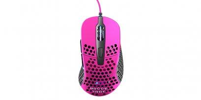 XTRFY M4 RGB, Gaming Mouse, Pink