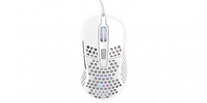 XTRFY M4 RGB, Gaming Mouse, White