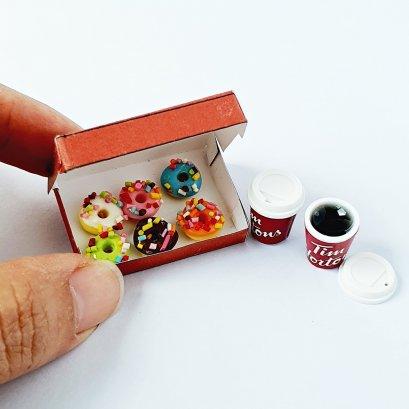 Dollhouse Miniatures Tim Hortons Donuts